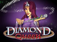 Мобильная версия игрового автомата онлайн Diamond Queen